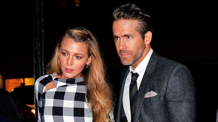 Blake Lively und Ryan Reynolds, Hollywood-Stars