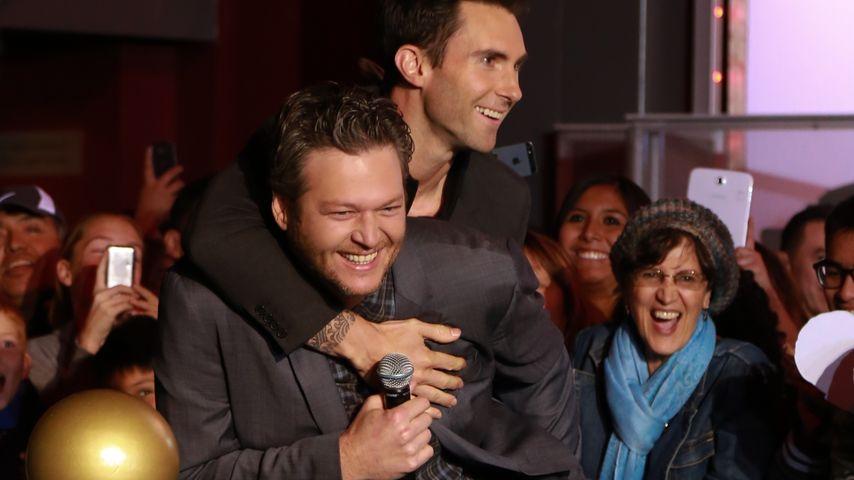 Adam Levine wird Papa: Blake Shelton will Patenonkel werden!