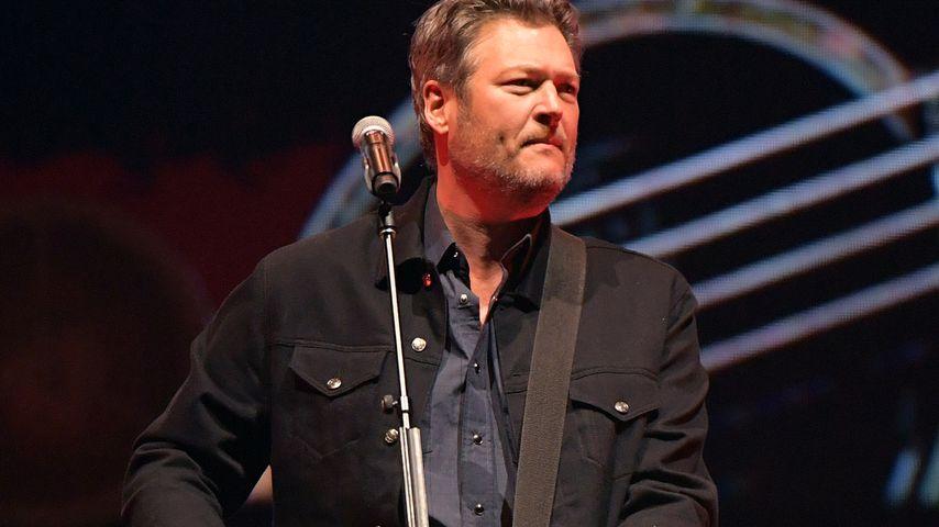 Blake Shelton bei einem Konzert in Nashville im Februar 2020
