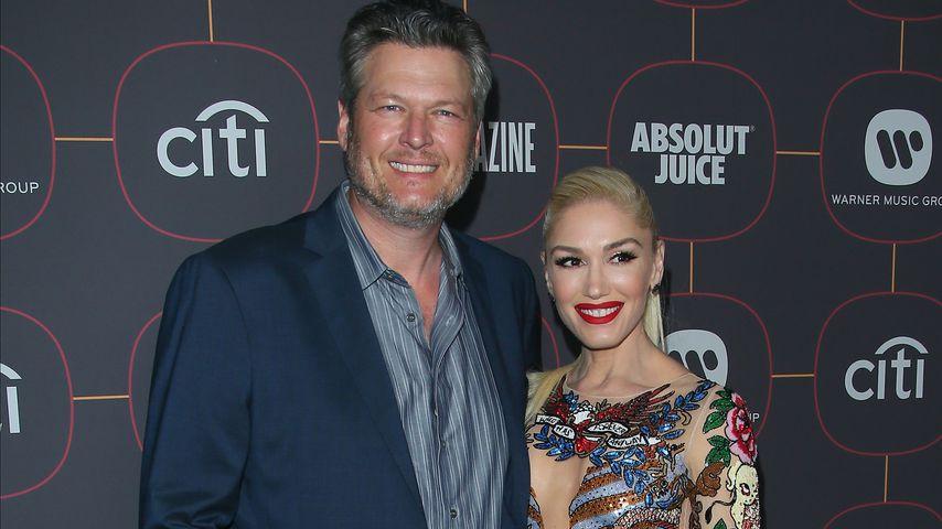 Blake Shelton und Gwen Stefani im Jahr 2020