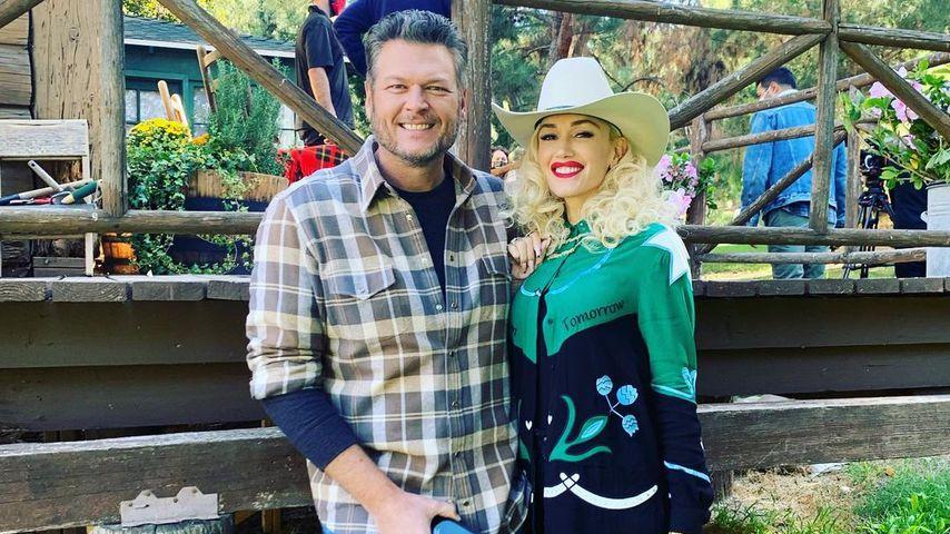 Blake Shelton und Gwen Stefani im Dezember 2020
