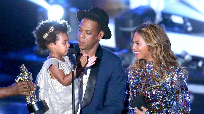 Blue Ivy, Jay-Z und Beyoncé