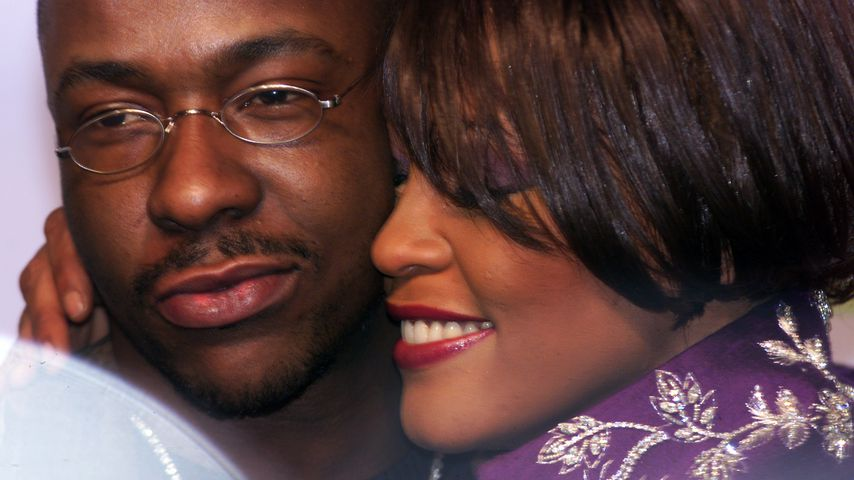 Bobby Brown und Whitney Houston im November 1999
