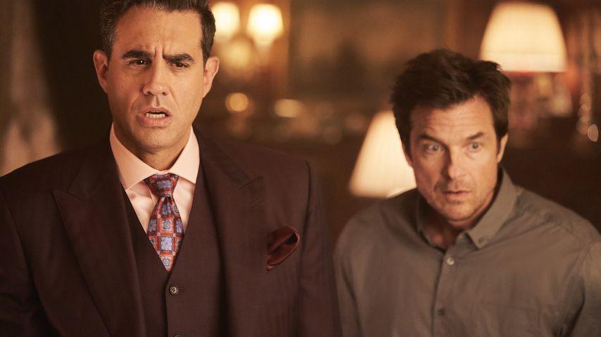 """Bobby Cannavale und Jason Bateman in einer Szene aus """"Thunder Force"""""""