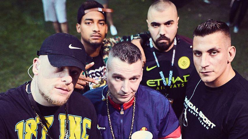 Bonez MC, Maxwell, LX, Sa4 und Gzuz, die 187 Strassenbande