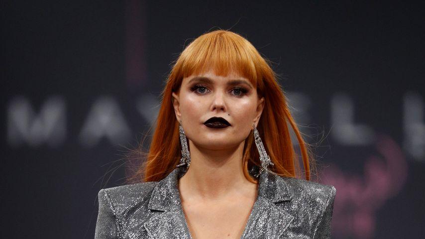 Bonnie Strange bei der Maybelline-Show in New York, 2019