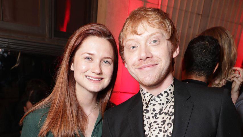 Süße Weasley-Reunion: Bonnie Wright stolz auf Rupert Grint!