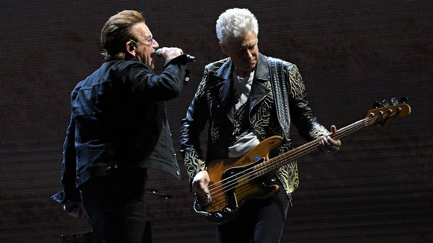 Bono und Adam Clayton