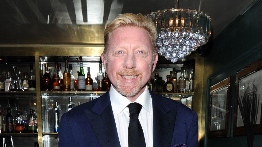 Boris Becker bei einer Gala in London
