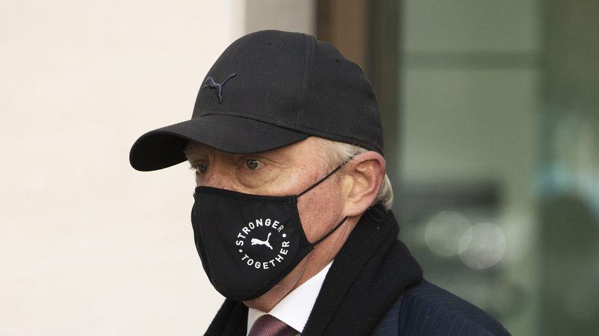Boris Becker nach seiner Anhörung am Westminster Magistrates Court in London