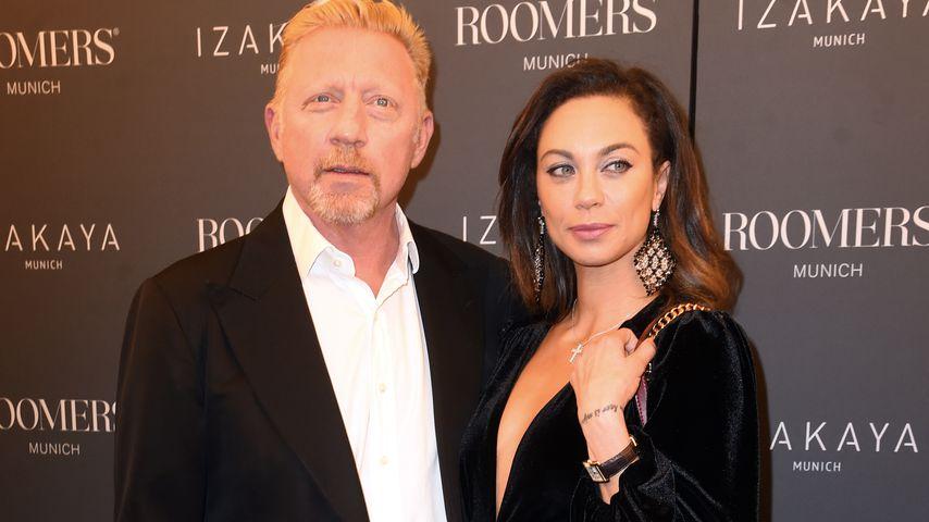 Boris Becker und Lilly Becker bei einer Hoteleröffnung in München