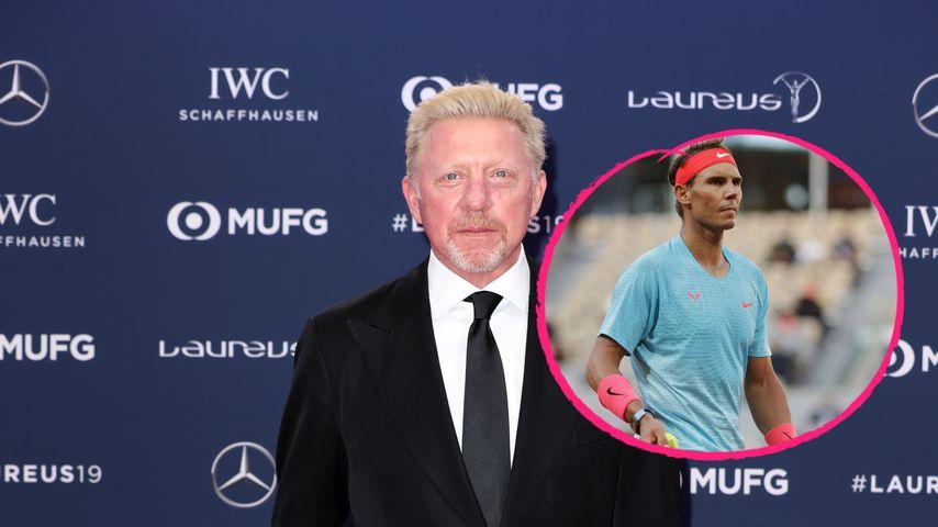 20. Grand-Slam-Titel: Becker begeistert von Rafael Nadal