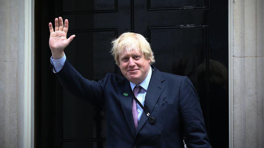 Wie bitte? Boris Johnson darf im Garten der Queen joggen