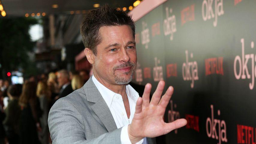 """Brad Pitt bei der """"Okja""""-Premiere in New York 2017"""