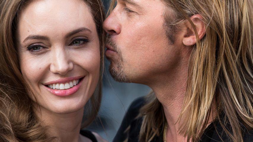 Endlich! Brad Pitt & Angelina Jolie verheiratet!
