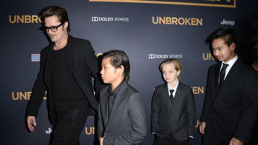 Ohne Brad! Angelina feiert mit Kids in Australien