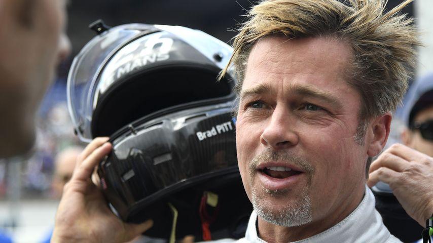 """Brad Pitt beim """" Celebrity Autorennen"""" in Le Mans"""