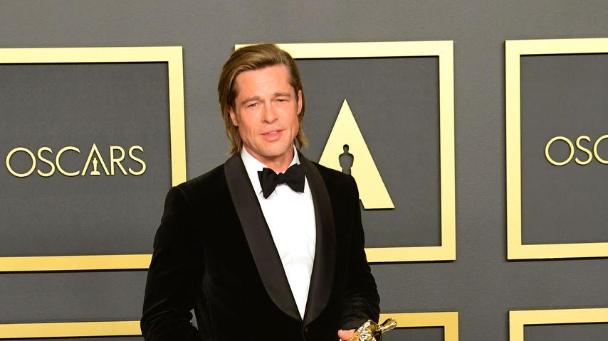 Brad Pitt im Februar 2020 in Los Angeles