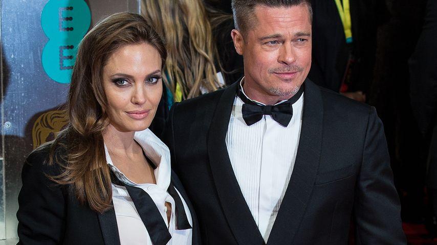 Angelina Jolie und Brad Pitt auf dem Red Carpet