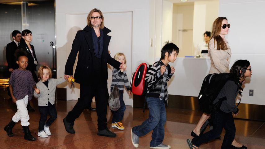 Sorgerechts-Streit: Brad Pitt hofft auf Hilfe von Angies Dad
