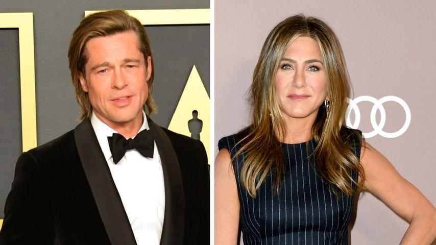 Treffen sich Brad Pitt und Jennifer Aniston etwa heimlich?