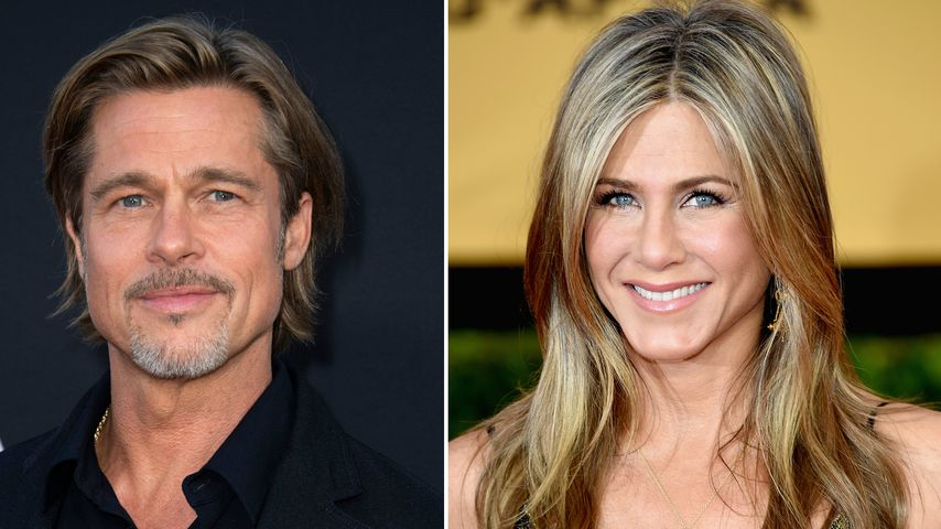 Nach Wiedersehen: Was läuft zwischen Brad und Jennifer?