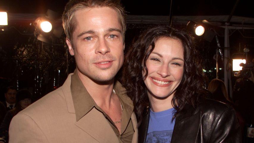 """Brad Pitt und Julia Roberts bei der Premiere von """"Mexican"""", 2001"""