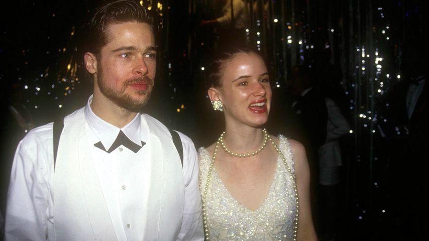 Brad Pitt und Juliette Lewis bei den Oscars 1992