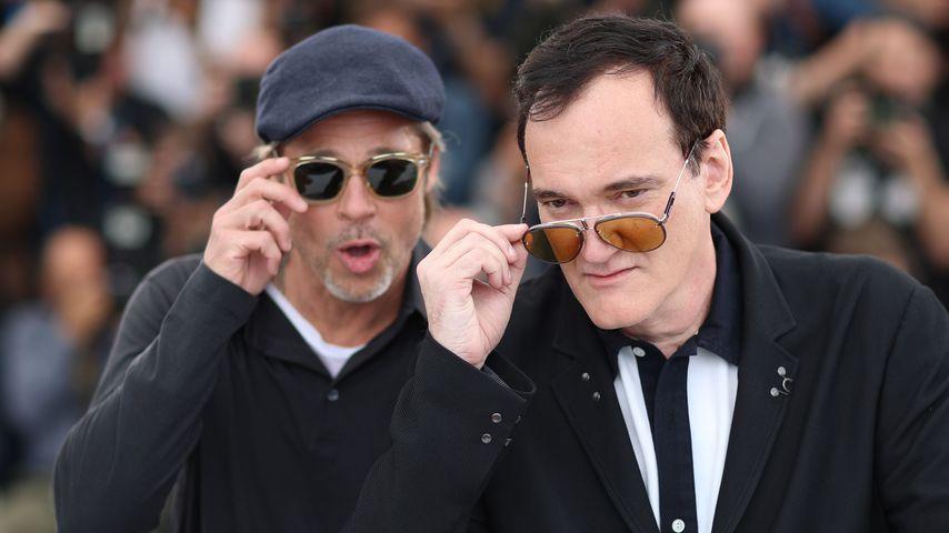 Brad Pitt und Quentin Tarantino