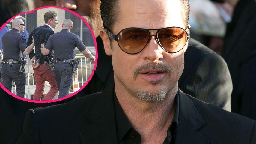 Schockmoment! Brad Pitt auf Red Carpet attackiert