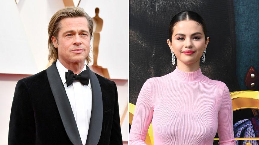 Vor Angelinas The Weeknd-Date: Brad flirtete mit Sel Gomez