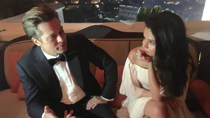 Affäre mit Selena Gomez: Ist Brad Pitt etwa fremdgegangen?