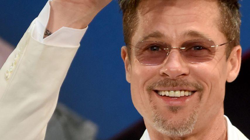 """Brad Pitt bei der Premiere von """"War Machine"""""""