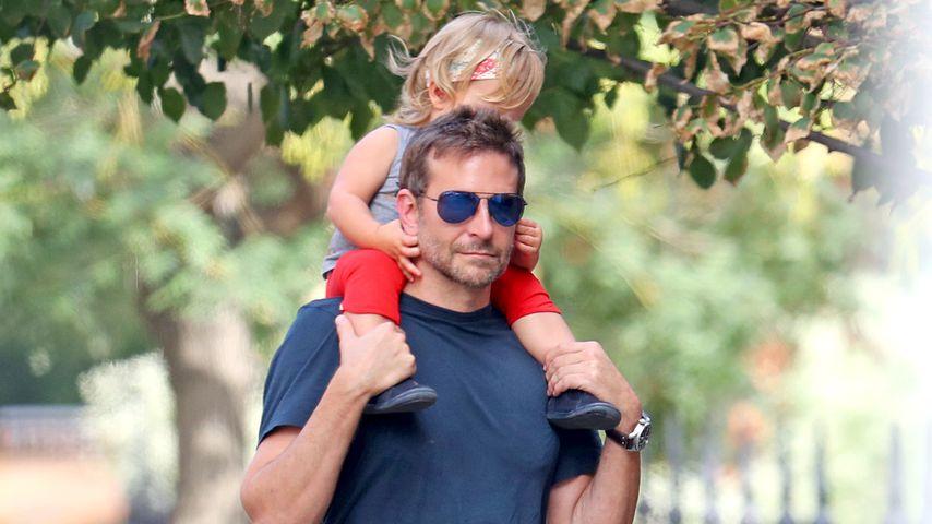 Bradley Cooper und Tochter Lea in New York, Oktober 2018