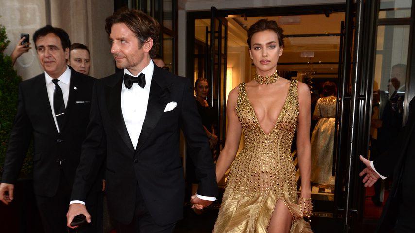 Bradley Cooper und Irina Shayk beim Verlassen des Mark Hotels in New York