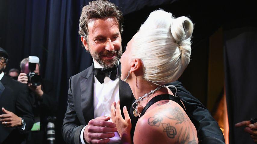 Bradley Cooper und Lady Gaga nach ihrem Auftritt bei den Oscars 2019