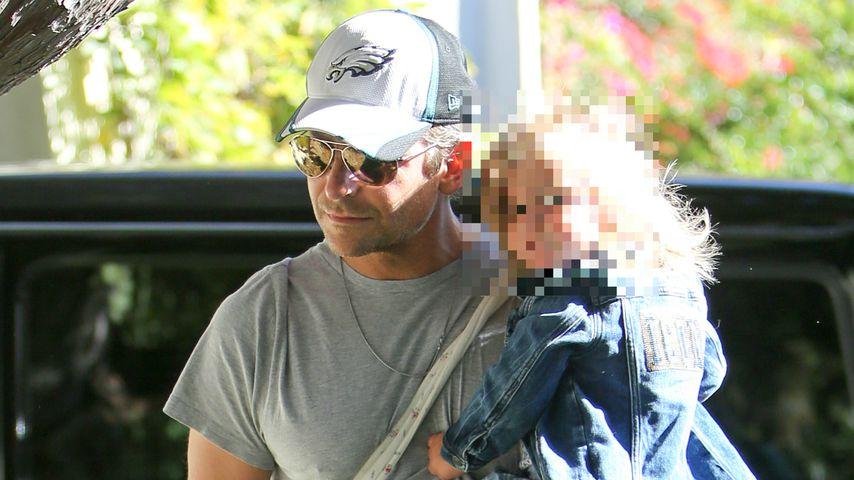 Bradley Cooper mit seiner Tochter Lea de Seine