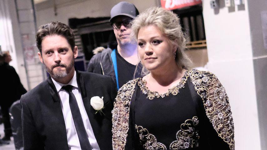 Brandon Blackstock und Kelly Clarkson, 2018