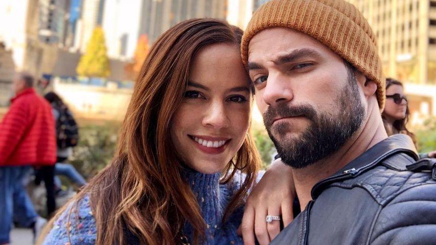 Kimberly und Brant Daugherty in Chicago im Oktober 2020