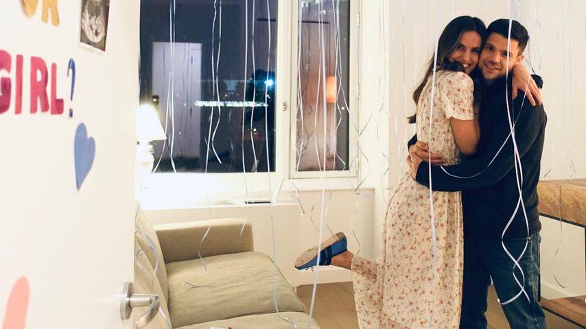 Breanne Racano und Jerry Ferrara verkünden das Geschlecht ihres Babys