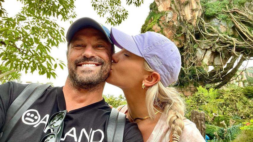 Brian Austin Green und Sharna Burgess im Juli 2021