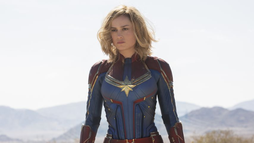 Nach Beauty-Zweifeln: Brie Larson flasht als Captain Marvel!