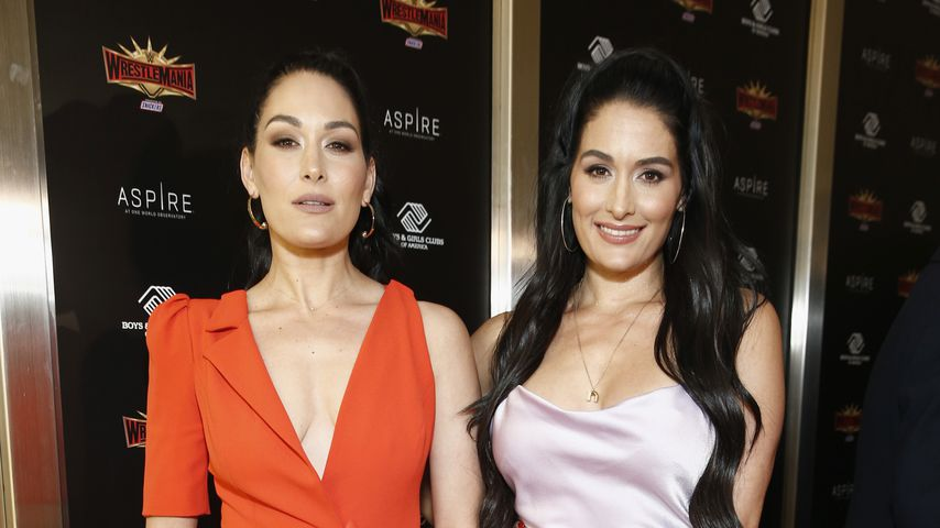 Brie und Nikki Bella bei einem Event in New York City