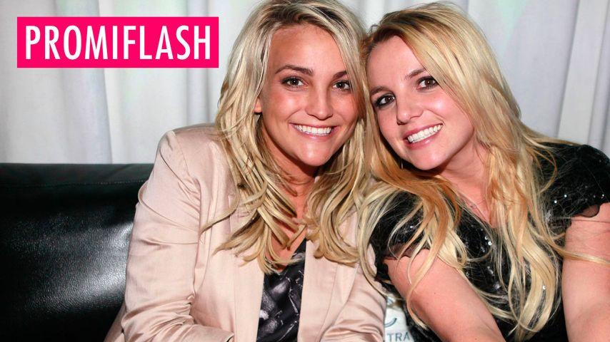 Britney happy für die Schwester
