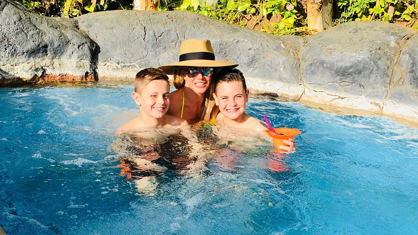 Britney Spears mit ihren Söhnen Sean Preston und Jayden James