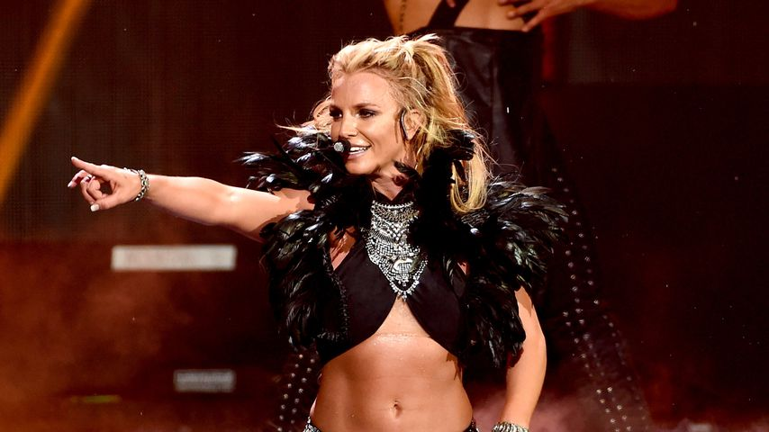 Britney Spears bei einer Show in Las Vegas
