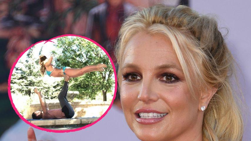 """Körpersprache"": Dieses Paar-Workout hält Britney Spears fit"