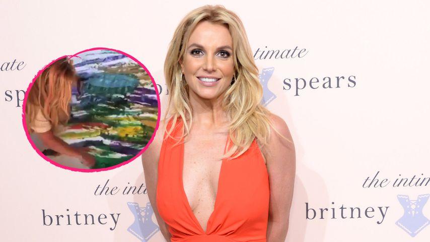 Nach Gerichtstermin: Britney Spears widmet sich der Malerei