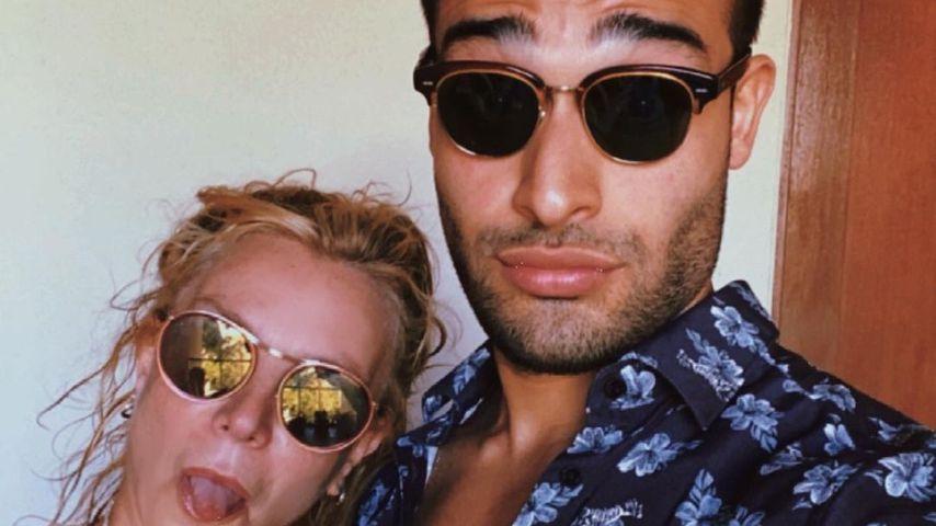 Britney Spears und ihr Partner Sam