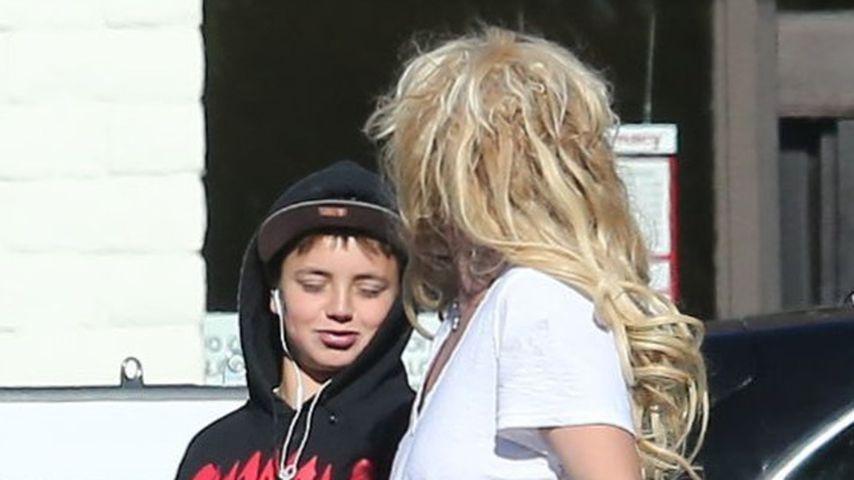 Britney Spears mit ihrem Sohn Jayden James